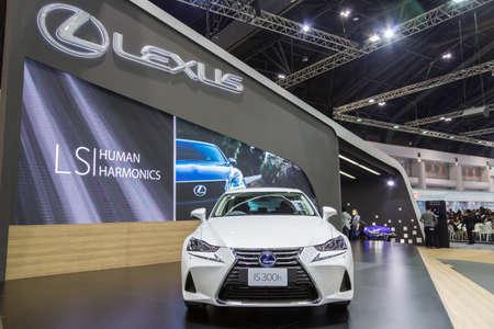 lexus auto: Bangkok, Thailand - December 11, 2016 :  Lexus IS 300h car  at Thailand International Motor Expo 2016 (MOTOR EXPO 2016) on December 11,2016 in Bangkok, Thailand.