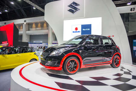 BANGKOK - JULY 5 : Modified car show show at Bangkok International Auto Salon 2017, the largest and most magnificent Modified Car and automobile accessories show in Bangkok, Thailand. Editorial