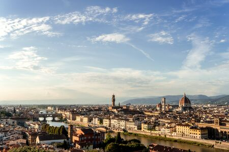 Afternoon mood over Florence