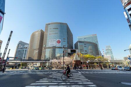 Ginza, Tokyo, Japan, April 2019 Stock fotó