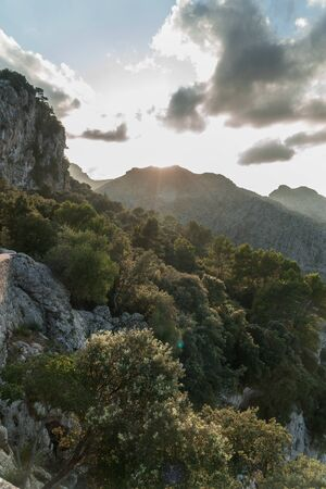 Beautiful landscape of Mallorca, Spain
