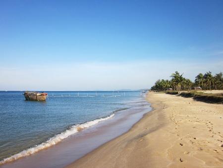 nam:         Natural beautiful beach in Phu Quoc island, Vietnam