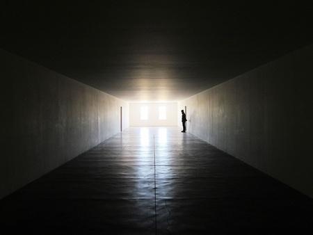 soledad: La Luz Foto de archivo