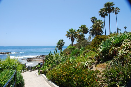 Laguna Beach landscape, California, USA photo