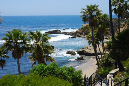 Laguna Beach landscape, California, USA