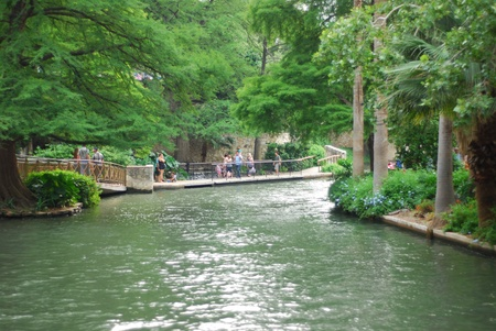 Canal Cruising in San Antonio, TX, USA