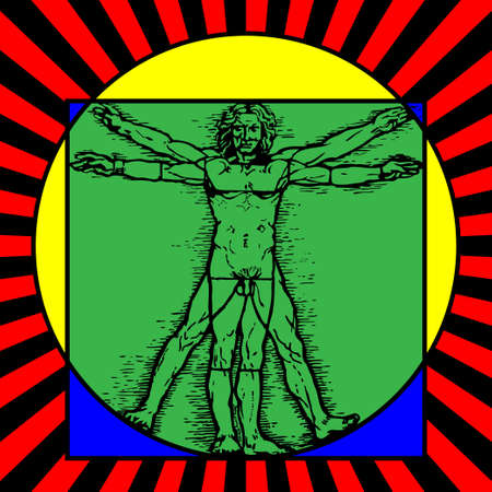 greatness: The Vitruvian man