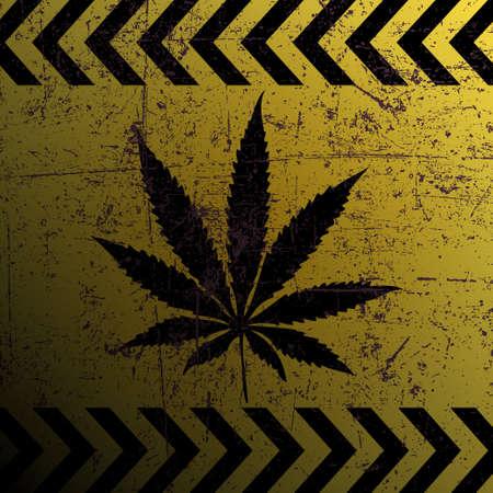 Sign of marijuana photo