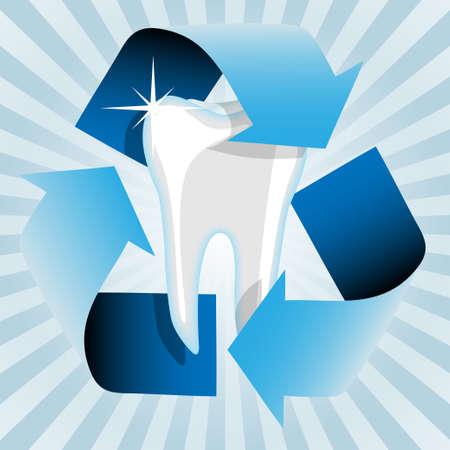dental pulp: Healthy tooth