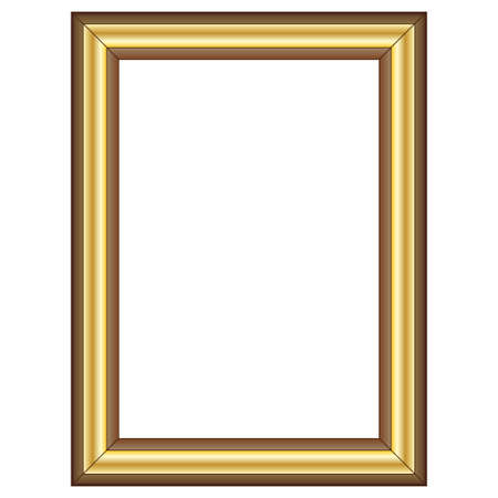 gold frame: Frame Illustration