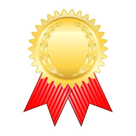 honours: Gold award ribbon
