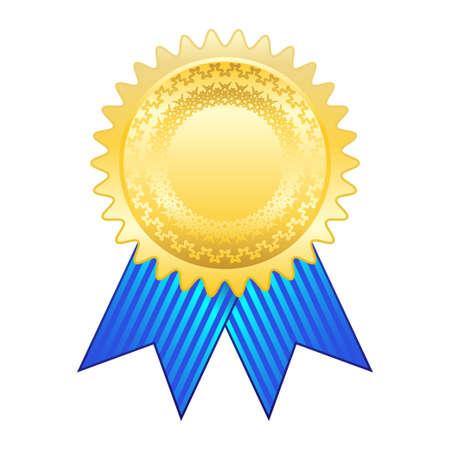 reconocimiento: Cinta el premio de oro