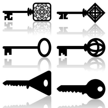 old keys: Keys