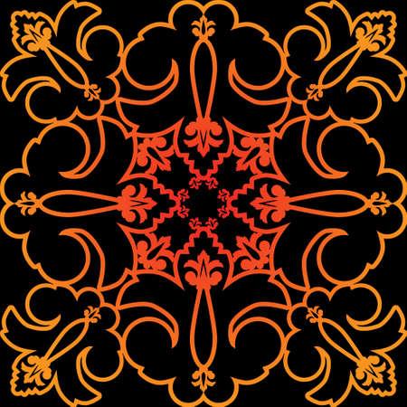 connexion: Decoration element Illustration