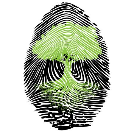 empreintes digitales: La signature �cologique