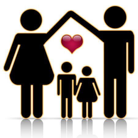 relaciones humanas: Casa familiar