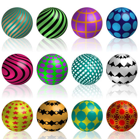 Colorful balls Stock Photo - 14270337