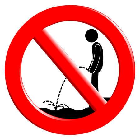 The sign ban Illustration
