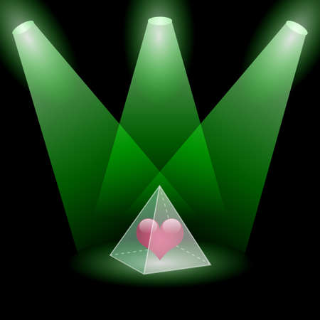 Pyramidal love Stock Photo - 15660461