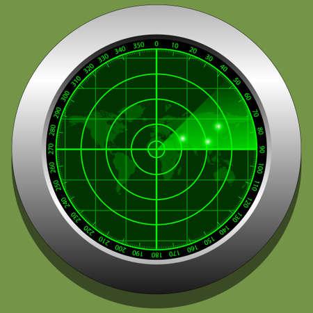 exterminate: Radar pantalla