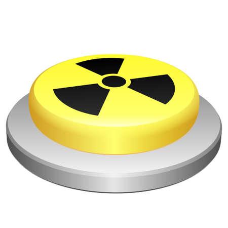 Button radiation Stock Vector - 16901736