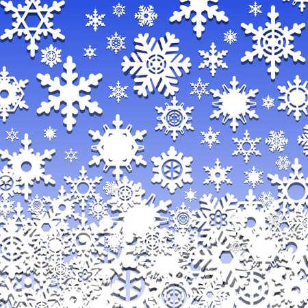 Winter background Stock Vector - 16901740