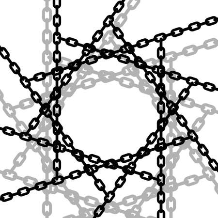 lock and chain: Entangled chains