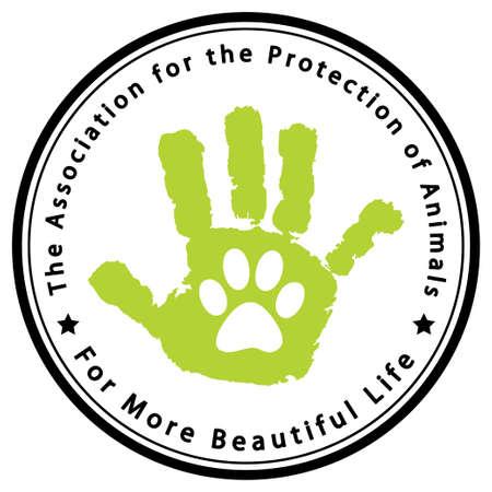 lion dog: Protection of animals Illustration