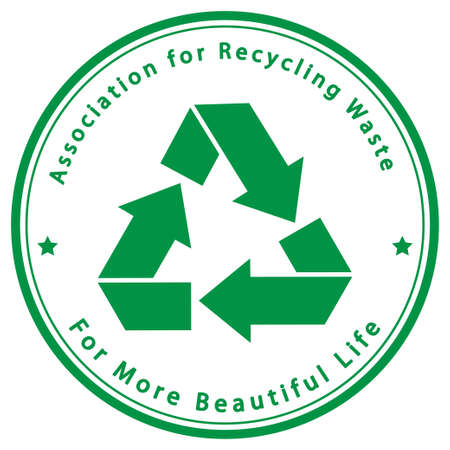 Association for Recycling Waste Stock Vector - 17359048