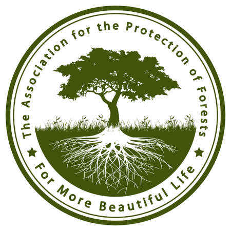 The Association for the Protection of Forests Vector