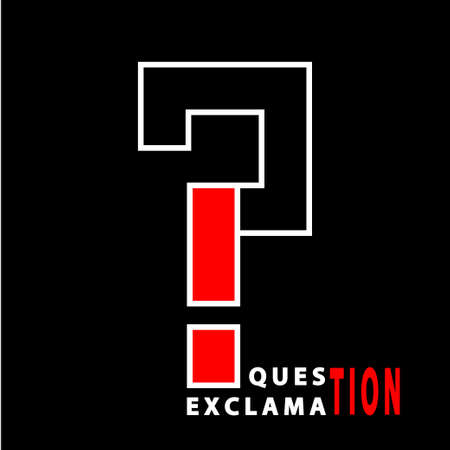Question and exclamation Stock Vector - 17589509