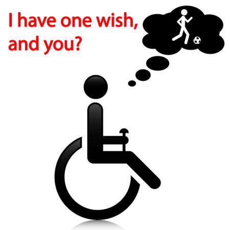 Persoon met een handicap