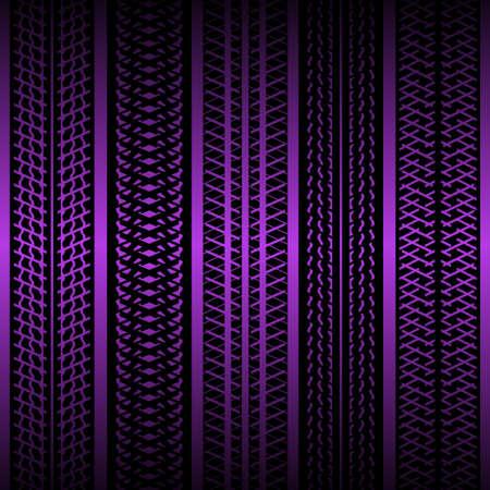purple grunge: Tire tracks