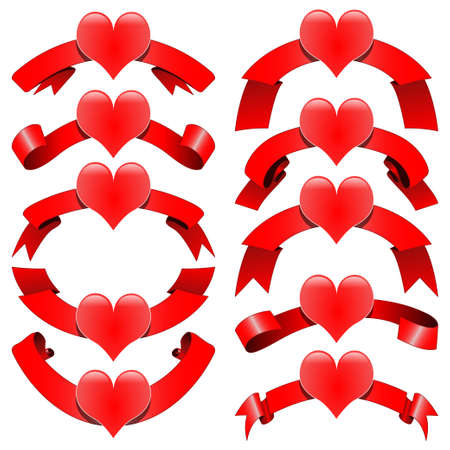 elation: Romantic decorative ribbons