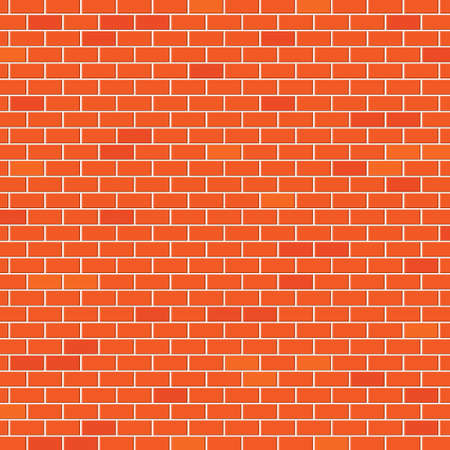 Red brick wall Stock Vector - 18405033