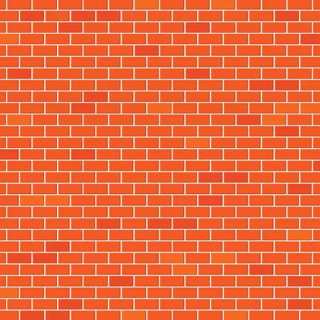 Red brick wall Stock Vector - 18405033
