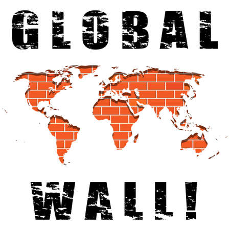 govern: Global wall Illustration