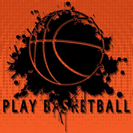 panier basketball: Jouer au basket
