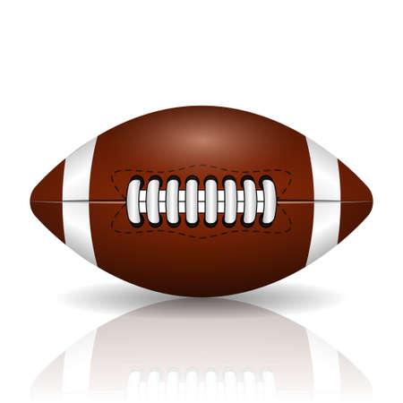 pelota de rugby: Fútbol americano
