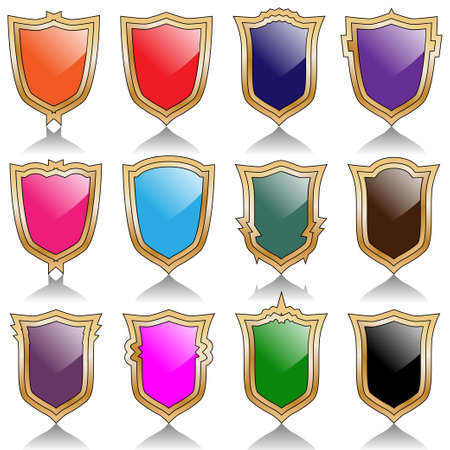 Shields Stock Vector - 18980075