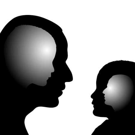 obediencia: Volver a la infancia Vectores