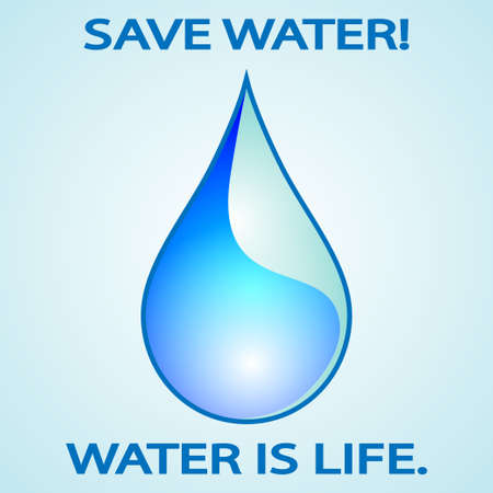 Save water photo