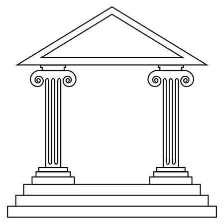 civilisation: Historical building Illustration