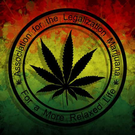 marihuana leaf: Legalization of Marijuana