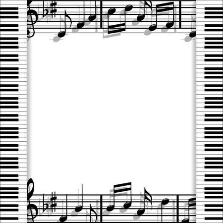 musical score: Musical frame