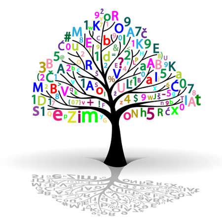 knowledge tree: Tree of Knowledge Illustration