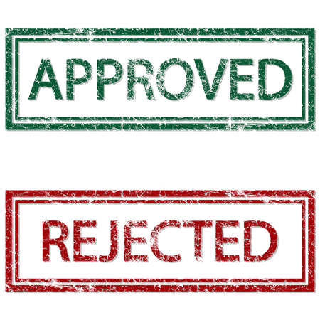accept icon: Approved Rejected