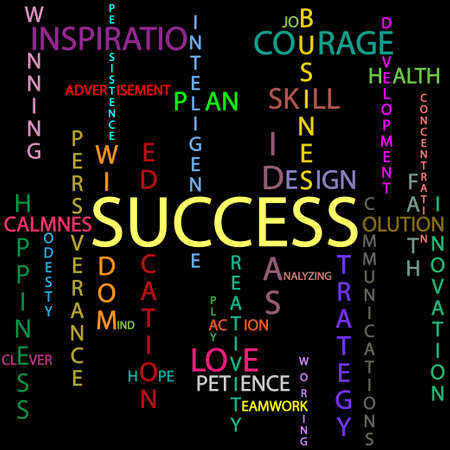 perseverance: Success background