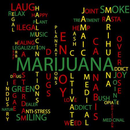 marihuana leaf: Marijuana background