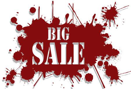 big sale: Big sale background Illustration